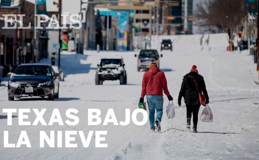 Nieve en Texas